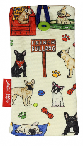 Selina-Jayne French Bulldog Limited Edition Designer Soft Glasses Case